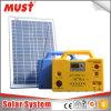 30W Mini système d'énergie solaire pour les petites Accueil