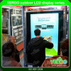 Kiosque publicitaire de centre commercial, extérieur et intérieur, lecteur étanche LCD