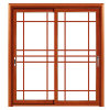 Porte coulissante d'usine de la Chine de qualité avec la configuration