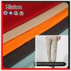 Le pantalon a balayé le tissu de coton avec le Spandex élastique