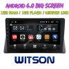 Grand écran 10,2 Witson Android 6.0 DVD de voiture pour Honda Accord 2008-2013 8e générations