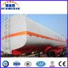 3 40m3 de l'essieu ressort à lames / carburant pétrolier ravitailleur d'huile semi-remorque