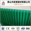 Feuille en plastique de produit de cavité de polycarbonate de mur du prix discount quatre