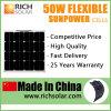panneau solaire flexible semi mono de 50W 12V