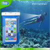 Мешок мобильного телефона PVC водоустойчивый, плавая сотовые телефоны сухого мешка компаса водоустойчивые, водоустойчивый мешок
