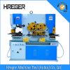 Máquina de cortar e perfurar do trabalhador de ferro hidráulico