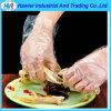 Оптовые горячие продавая устранимые перчатки PE для перчаток еды