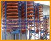 Lavadora de concentrado de canal de espiral de laboratorio