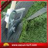 Buen precio que ajardina la hierba de alfombra sintetizada verde artificial del césped