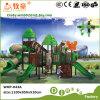 Спортивная площадка верхней серии сбываний Elfin напольная сползает для детей