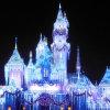 Decoração de rua LED Fairy Twinkle Icicle Lights for Castle Decor