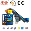 Вибрируйте и электрическая модельная бетонная плита делая машину Qt4-24