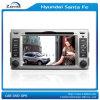 Estruendo 2 7 reproductores de DVD del coche de la pulgada para Hyundai Santa Fe con el cuadro del Rds del iPod de Bluetooth en el cuadro GPS (z-3023)