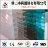 Strato 100% della cavità del policarbonato della Gemellare-Parete del Brown dei materiali del Bayer per la tenda