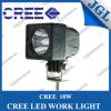 Lâmpada do trabalho do diodo emissor de luz do CREE T6 10W, luz Offroad, luz do trabalho do diodo emissor de luz de condução do diodo emissor de luz de ATV/SUV