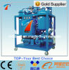 Machine de purification d'huile à turbine série Ty en série avec une forte émulsification, restaurer le point d'éclair