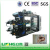 4 couleur High Speed Flexographic Printing Machine pour Linen Fabric