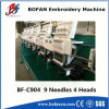 Máquina automatizada del bordado del casquillo (904)