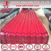 Les matériaux de toiture de couleur PPGI ont enduit la feuille d'une première couche de peinture ondulée galvanisée de toiture