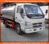 Depósito de gasolina Truck de Foton 4X2 Forland Mini Aluminum Oil Tank Truck 3cbm