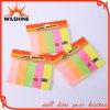 Примечания неоновый бумажного кубика высокого качества липкие для школы и офиса (SN012)