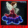 Licht van de mooie LEIDENE van de Decoratie van de Vakantie van de Engel het 2D Kabel van het Motief