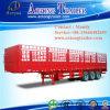 Aanhangwagen van de Vrachtwagen van het Vervoer van dieren de Semi
