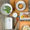 Reducción de la Campanula llama Glaze cena vajillas