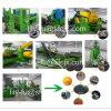 Déchets d'usine de recyclage des pneus à poudre en caoutchouc