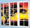 AluminiumCasement Window mit Dividing Strip
