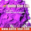 Day Light Flumentcent Pigment Violet pour impression textile Color Colle