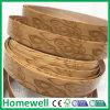 Band van pvc van de Korrel van het meubilair de Houten Decoratieve Scherpende