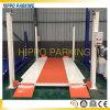 Levage/véhicules de stationnement de véhicule de 4 fléaux stationnant le système de levage