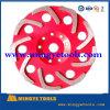 roues de polissage de meulage de cuvette concrète de 110mm