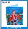 Tarjeta de felicitación lenticular de la impresión---Dejia3d. COM