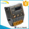 LCD CMP12-20A-LCDが付いている太陽系のための20A 12V/24Vの太陽コントローラ