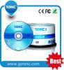 Grade a + DVD-R Disque DVD vierge dans un emballage enveloppé par rétrécissement