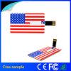 Azionamento di plastica della penna del USB della carta di credito di Colorfull di stampa libera di marchio