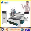 O dobro dirige a máquina de gravura de madeira do router do CNC 3D para a venda
