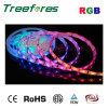 Luz de tira do diodo emissor de luz de IP65 DC24V RGB