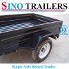 2016 Aanhangwagen van de Vrachtwagen van de Kwaliteit Hight de Enige As Vastgeboute