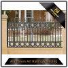 Decoración de jardín de aluminio recubierto de polvo de hierro artesanal para decoración de cerco