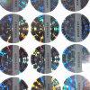 Het transparante Etiket van de Sticker van het Hologram van het Aantal van de Laser
