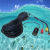 камера CCTV осмотра миниого СИД 1-50m подводного рыболовства кабеля 5V видео-