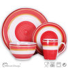 16PCS Handpainting Ceramic Stoneware Dinner Set
