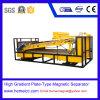 Placa-Tipo separador magnético para a areia de quartzo, maquinaria mineral