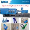 Máquina plástica da modelação por injeção do estilo horizontal
