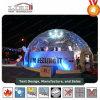 グループの収集、園遊会のための水晶ドーム