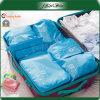 Saco azul do armazenamento da bagagem do curso do poliéster