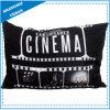 Oreiller de jet imprimé par thème de polyester de cinéma